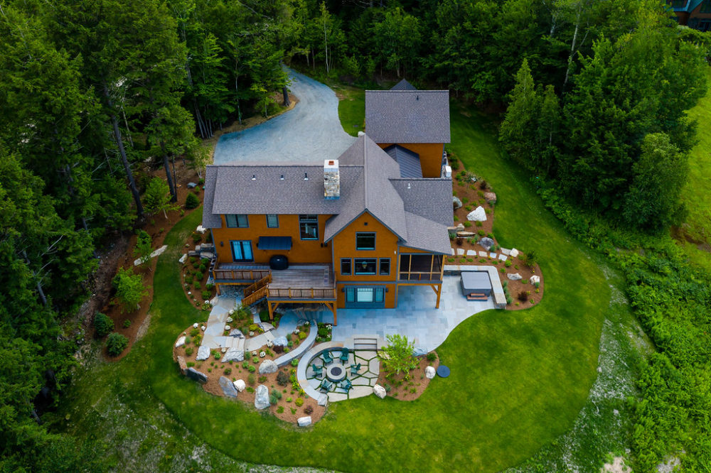 Aerial view by Ambler Design