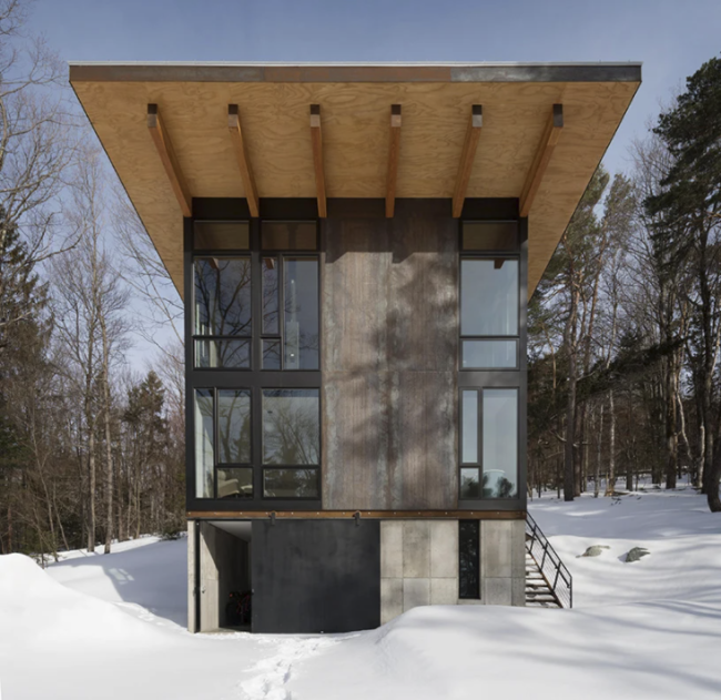 Olson Kundig Vermont Cabin by Ambler Design